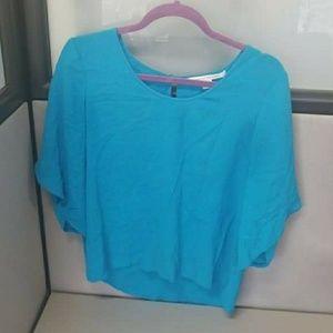 Diane vone Furstenberg womens top blouse size 8